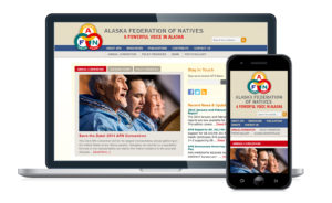Alaska Federation of Natives mobile responsive website design & development