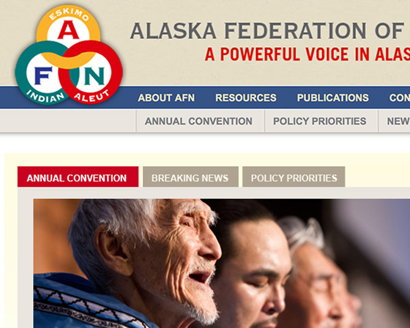 Alaska Federation of Natives website