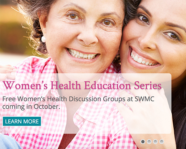 Women's health education series at Sonoma West Medical Center