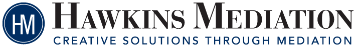 Hawkins Mediation logo design