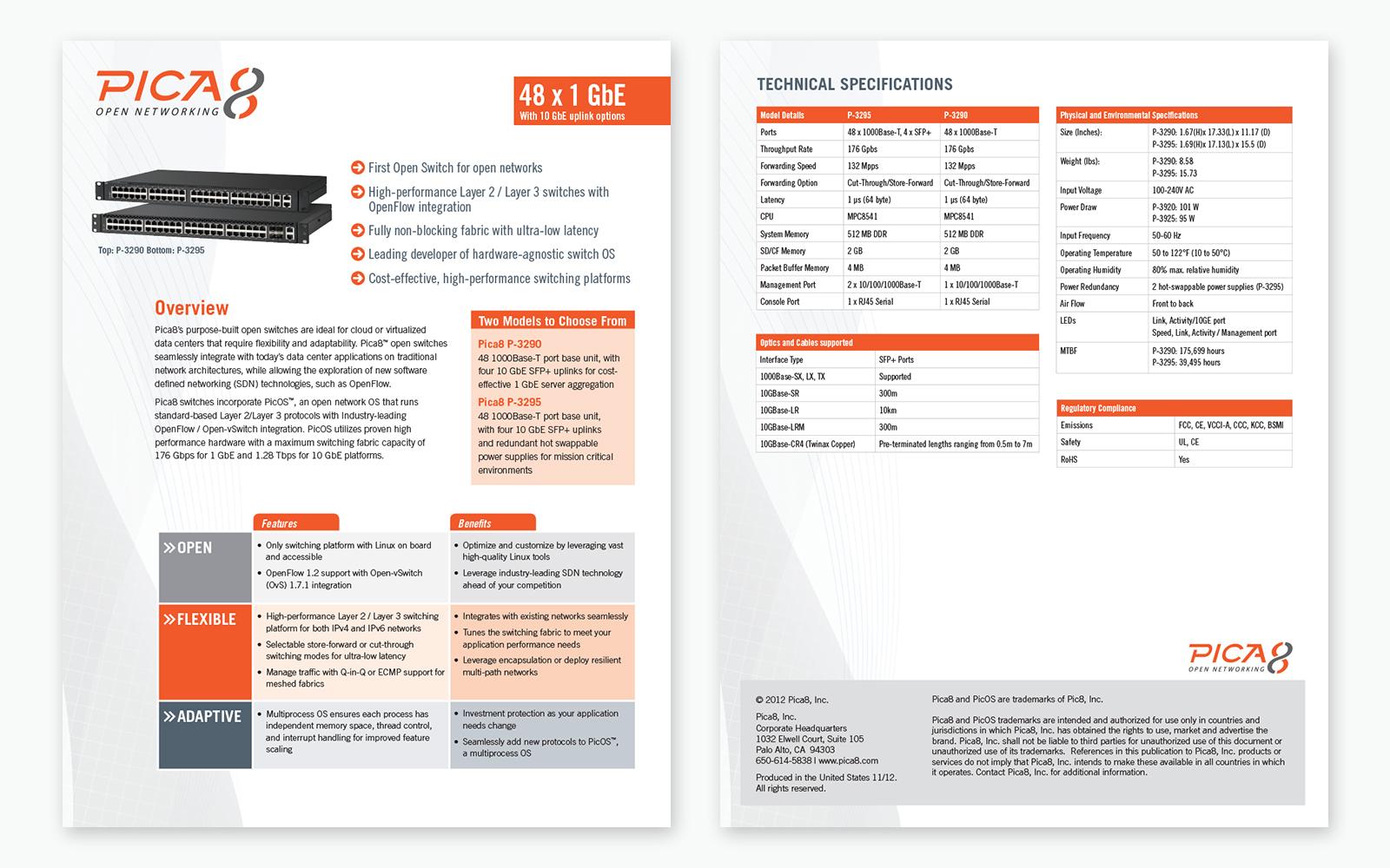 Pica8 Datasheet